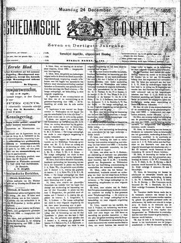 Schiedamsche Courant 1883-12-24