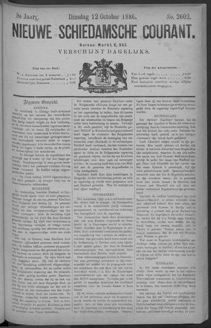 Nieuwe Schiedamsche Courant 1886-10-12