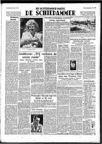 Rotterdamsch Parool / De Schiedammer 1948-04-29