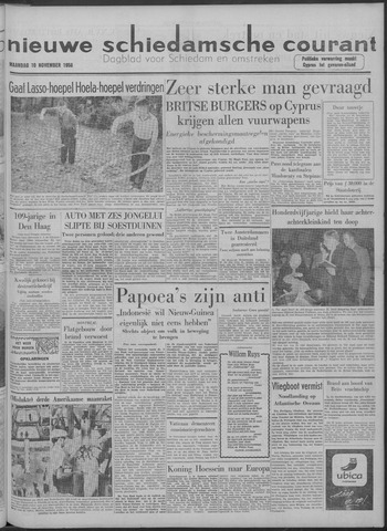 Nieuwe Schiedamsche Courant 1958-11-10