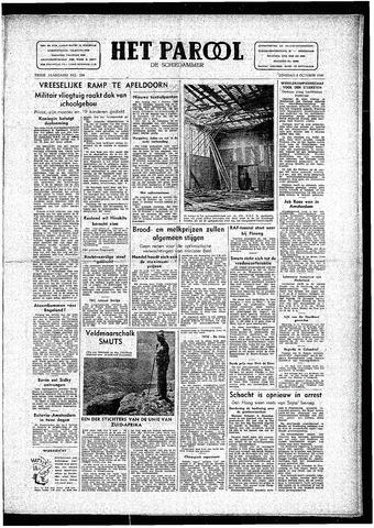 Rotterdamsch Parool / De Schiedammer 1946-10-08
