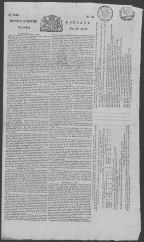 Rotterdamse Courant 1836-04-30