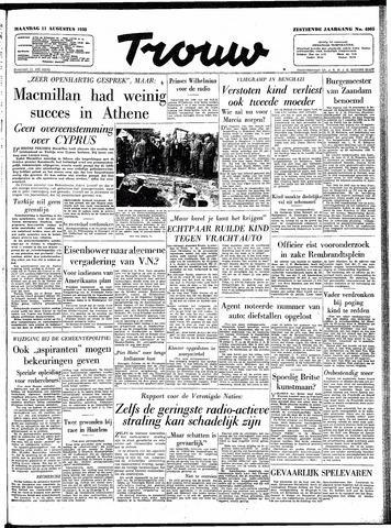 Trouw / De Rotterdammer 1958-08-11