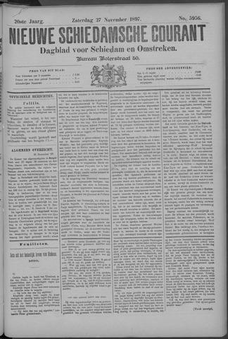 Nieuwe Schiedamsche Courant 1897-11-27