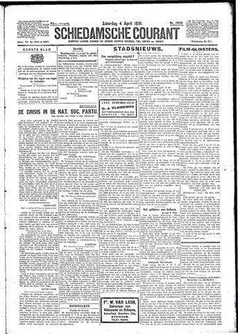 Schiedamsche Courant 1931-04-04