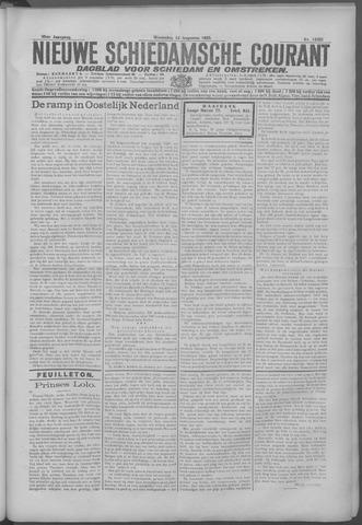 Nieuwe Schiedamsche Courant 1925-08-12