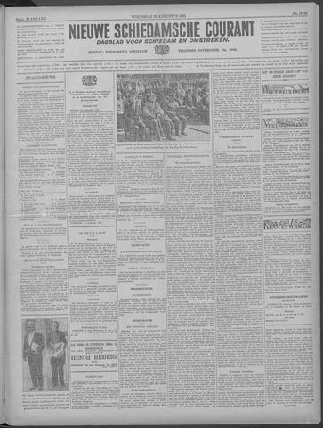 Nieuwe Schiedamsche Courant 1933-08-30
