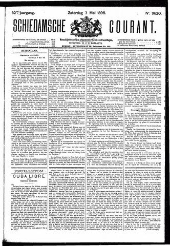 Schiedamsche Courant 1898-05-07