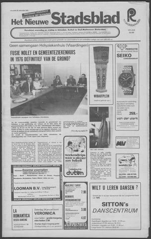 Het Nieuwe Stadsblad 1976-01-23
