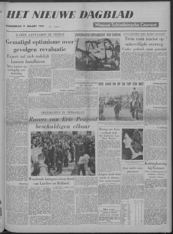 Nieuwe Schiedamsche Courant 1961-03-09