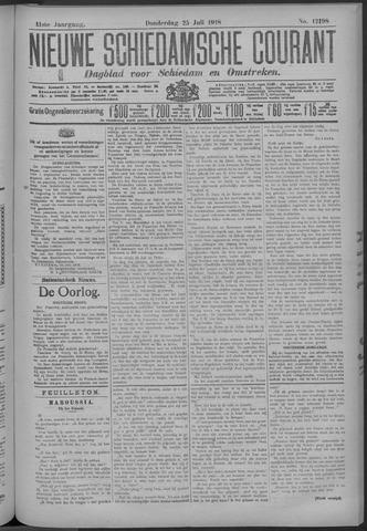 Nieuwe Schiedamsche Courant 1918-07-25