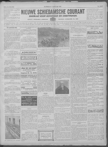 Nieuwe Schiedamsche Courant 1933-01-07