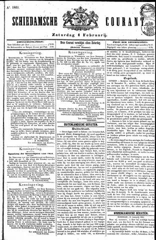 Schiedamsche Courant 1851-02-01