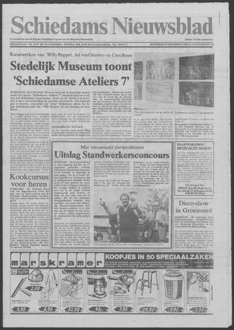 Schiedams Nieuwsblad 1982-09-22