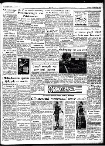 Trouw / De Rotterdammer 1962-09-15