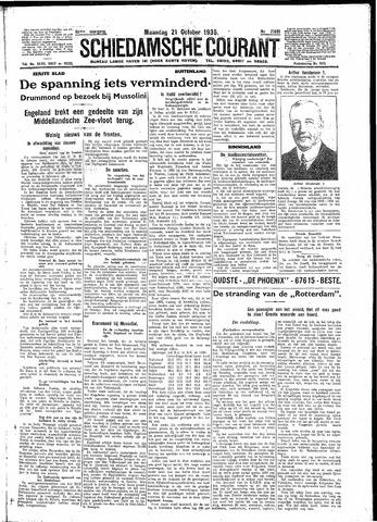 Schiedamsche Courant 1935-10-21
