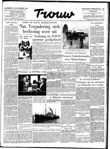 Trouw / De Rotterdammer 1954-12-30
