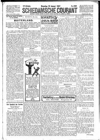 Schiedamsche Courant 1927-01-10