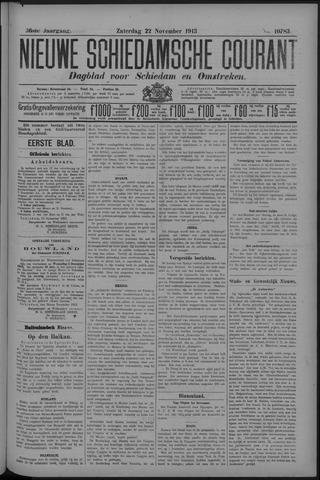 Nieuwe Schiedamsche Courant 1913-11-22