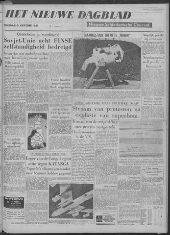 Nieuwe Schiedamsche Courant 1961-10-31