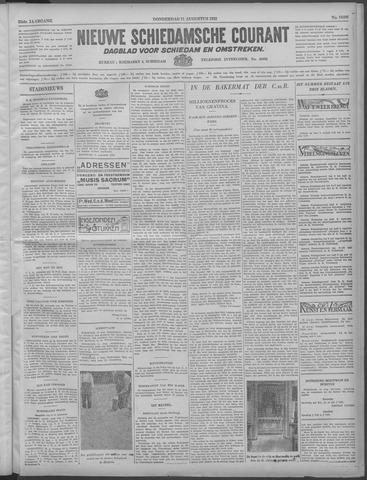 Nieuwe Schiedamsche Courant 1932-08-11