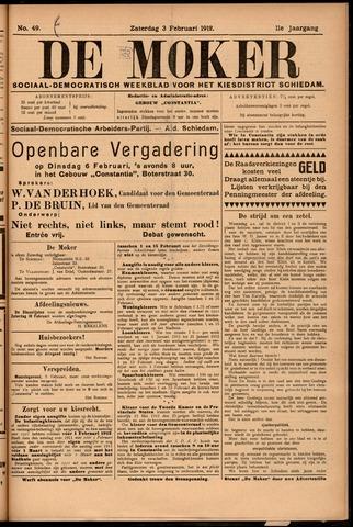De Moker 1912-02-03