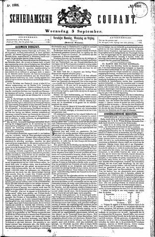 Schiedamsche Courant 1866-09-05