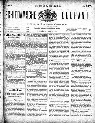 Schiedamsche Courant 1885-12-12