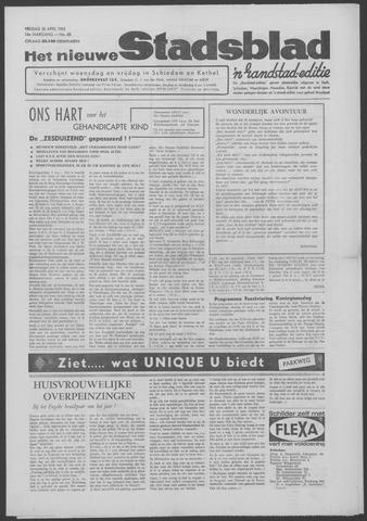 Het Nieuwe Stadsblad 1963-04-26