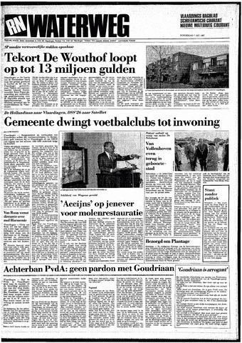 Rotterdamsch Nieuwsblad / Schiedamsche Courant / Rotterdams Dagblad / Waterweg / Algemeen Dagblad 1987-05-07