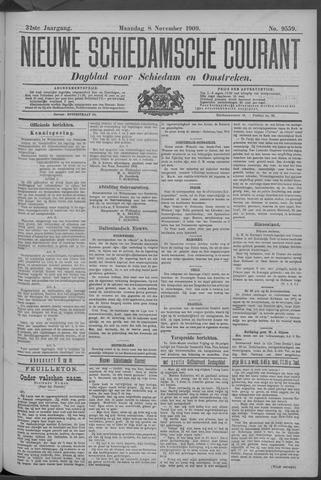 Nieuwe Schiedamsche Courant 1909-11-08