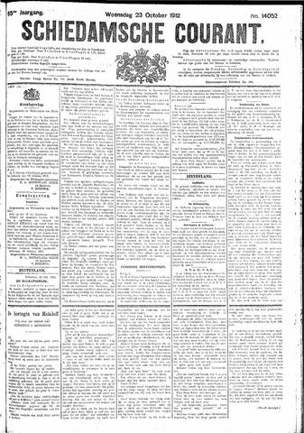 Schiedamsche Courant 1912-10-23