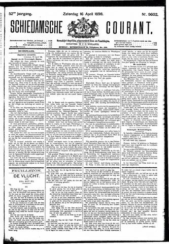 Schiedamsche Courant 1898-04-16