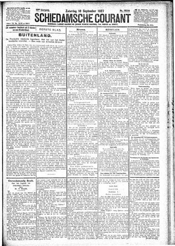 Schiedamsche Courant 1927-09-10