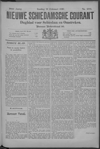 Nieuwe Schiedamsche Courant 1897-02-21