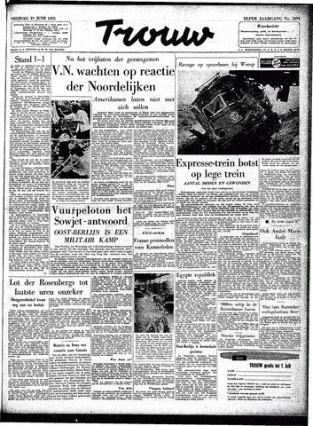 Trouw / De Rotterdammer 1953-06-19