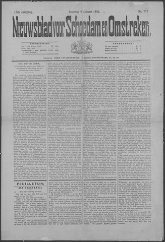 Nieuwsblad voor Schiedam en Omstreken 1892-01-09