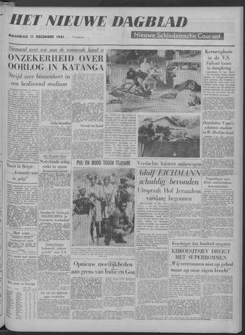 Nieuwe Schiedamsche Courant 1961-12-11