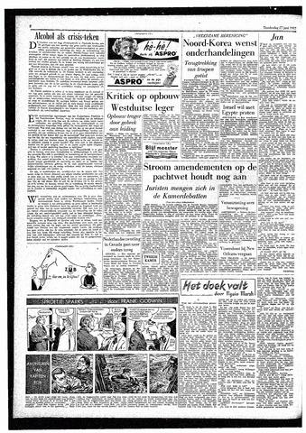 Rotterdamsch Parool / De Schiedammer 1957-06-27