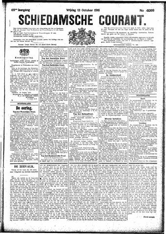 Schiedamsche Courant 1916-10-13