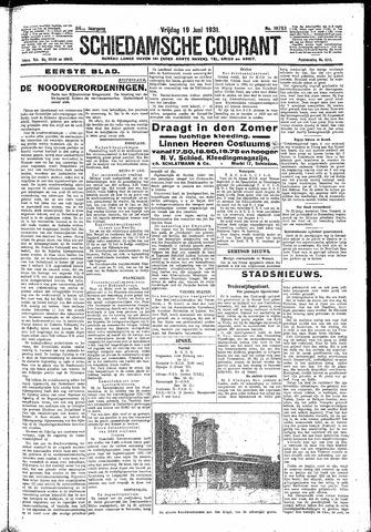 Schiedamsche Courant 1931-06-19
