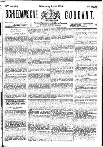 Schiedamsche Courant 1898-06-01