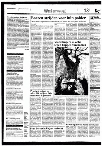 Rotterdamsch Nieuwsblad / Schiedamsche Courant / Rotterdams Dagblad / Waterweg / Algemeen Dagblad 1993-11-18