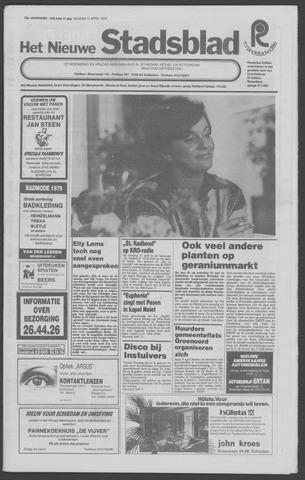 Het Nieuwe Stadsblad 1979-04-13
