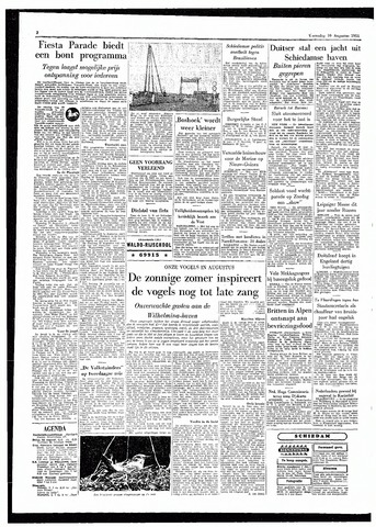 Rotterdamsch Parool / De Schiedammer 1955-08-10