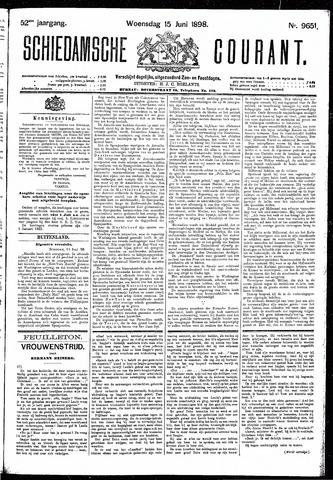 Schiedamsche Courant 1898-06-15