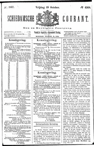 Schiedamsche Courant 1877-10-19