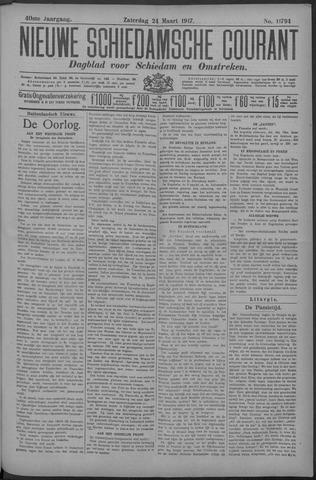 Nieuwe Schiedamsche Courant 1917-03-24