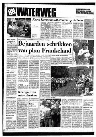 Rotterdamsch Nieuwsblad / Schiedamsche Courant / Rotterdams Dagblad / Waterweg / Algemeen Dagblad 1985-08-19