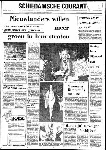 Rotterdamsch Nieuwsblad / Schiedamsche Courant / Rotterdams Dagblad / Waterweg / Algemeen Dagblad 1974-09-09